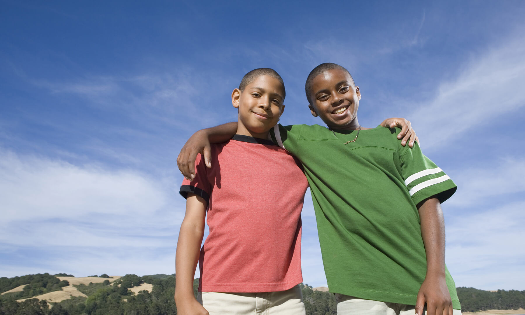 youth- friendship- race- black- african- american- male- boy