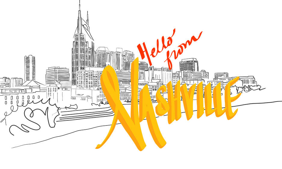 Nashville, Tennessee, Workshop, Professional Development, Illustration
