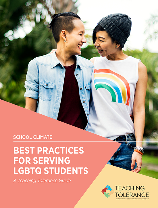 LGBTQ, Best Practices for Serving LGBTQ Students cover, Publication