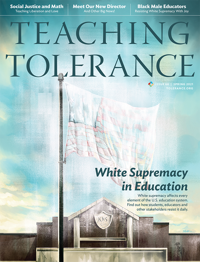 Teaching Tolerance Magazine Cover, TT66, Spring 2021