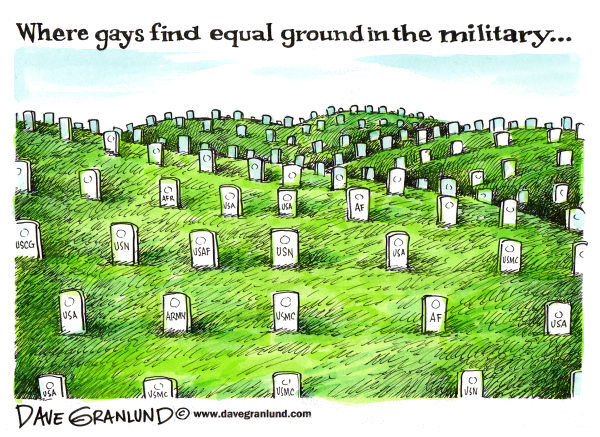 Questions in the Wake of Gay Marriage's Inexorable March ...  Gay Rights Cartoon