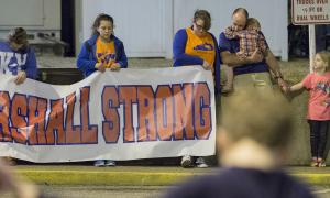 #MarshallStrong Protest | Marshall County, Kentucky | Ryan Hermens/Associated Press