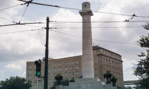 Lee Circle in New Orleans, Louisiana.