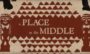 "Screenshot of ""A Place in the Middle: The True Meaning of Aloha"" intro sequence."