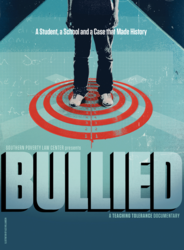 Cover of the film 'Bullied | A Student, a School and a Case that Made History.'
