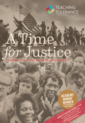 Cover of the film 'America's Civil Rights Movement | A Time for Justice.'
