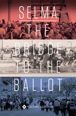 Cover of 'Selma: The Bridge to the Ballot,' a Teaching Tolerance film.