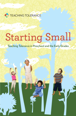 Cover of 'Starting Small: Teaching Tolerance in Preschool and the Early Grades.'