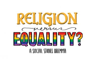 Religion vs Equality illustration