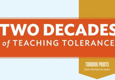 Two Decades of Teaching Tolerance image