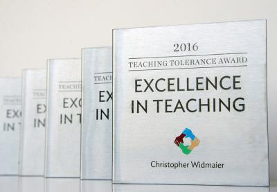 Excellence in Teaching Awards 2016