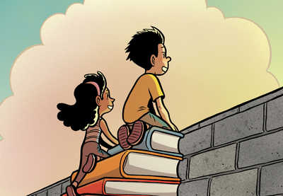 A Remote Control for Learning by Monita Bell Illustration by Gene Luen Yang | TT58 | Teaching Tolerance