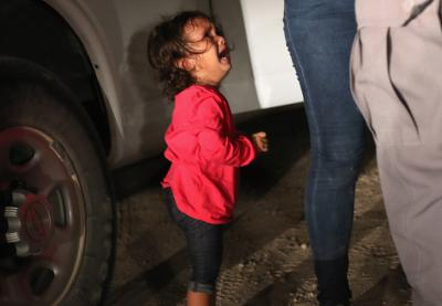 Little girl separated at United States border | Image by John Moore