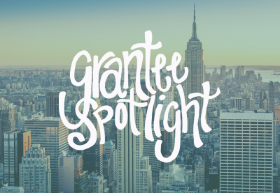 Grantee spotlight with Abby MacPhail in New York City.
