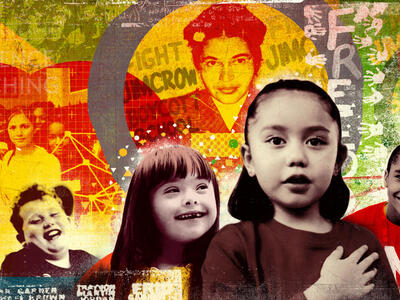 Teaching Tolerance collage of images
