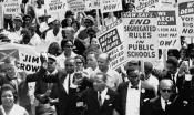 Dr. King and others march on Washington.