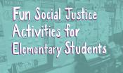 Fun Social Justice Activities Web Image