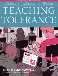 Teaching Tolerance Issue 57 Cover