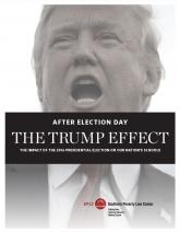 Trump Effect cover, Donald Trump Speaking