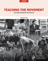 Teaching the Movement 2012 Publication v2 Cover | Teaching Tolerance