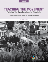 Teaching the Movement 2014 Publication v2 Cover | Teaching Tolerance