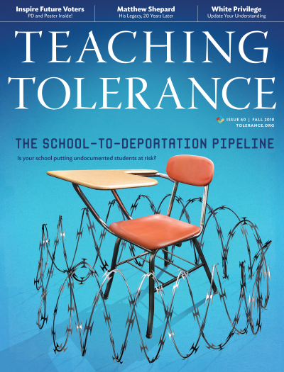 TT 60 Magazine cover featuring the School-to-Deportation story illustration.