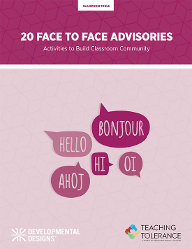 20 Face to Face Advisories Cover