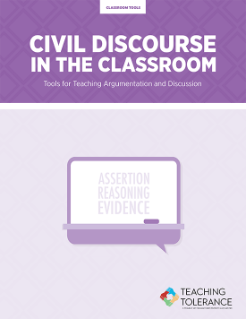 Civil Discourse in the Classroom Publication Cover | Teaching Tolerance