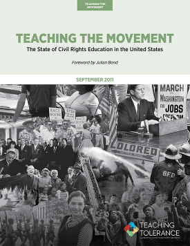 Teaching the Movement 2011 Publication v2 Cover | Teaching Tolerance