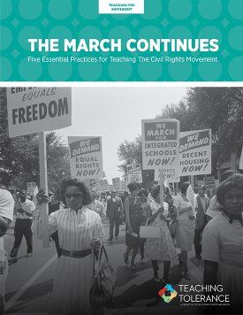 Teaching the Movement | The March Continues Publication v2 Cover | Teaching Tolerance