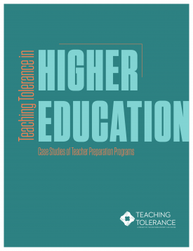 Teaching Tolerance in Higher Education: Case Studies of Teacher Preparation Programs cover