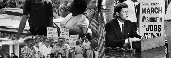 Collage of Civil Rights Movement images