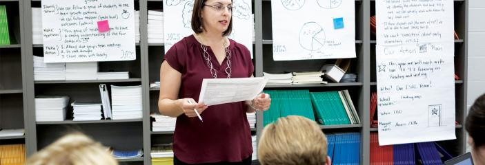 Teaching Tolerance teacher in classroom; teaching strategies