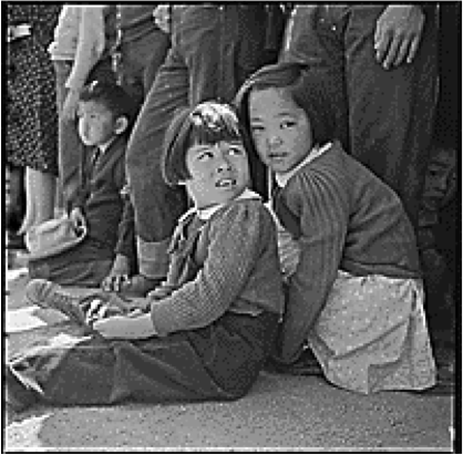 children sitting