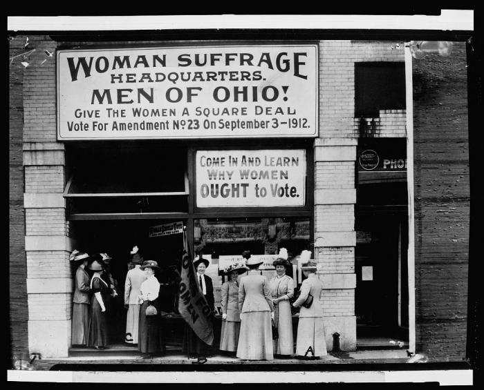 suffrage, gender