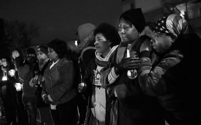 Vigil for Michael Brown