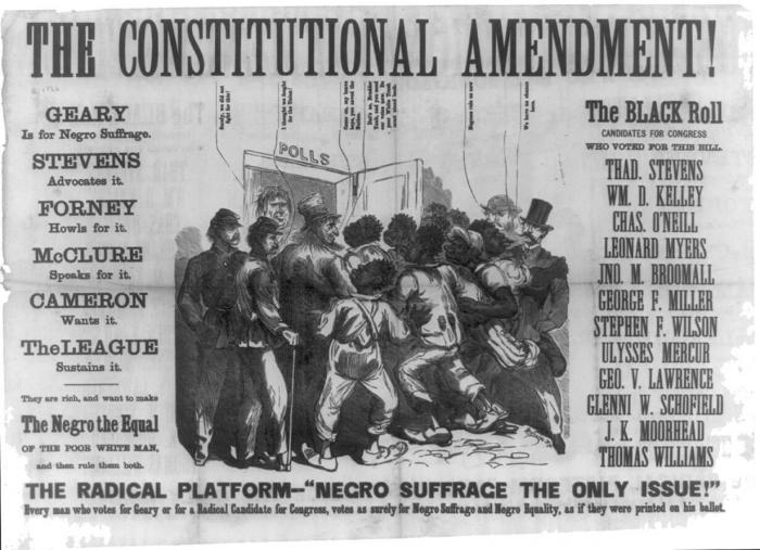 Old text from The Constitutional Amendment