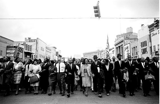 Image from historic Civil Rights march