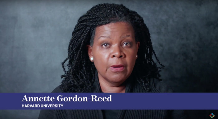 Scholar Annette Gordon-Reed of Harvard University.