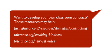 Critical Practices Classroom Culture Call-out Bubble 5