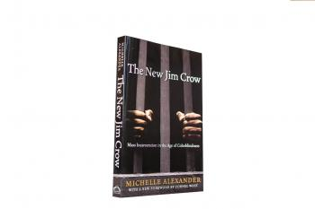 The book The New Jim Crow: Mass Incarceration in the Age of Colorblindness by Michelle Alexander
