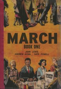 The cover of John Lewis' graphic novel