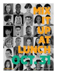 Mixitup poster yearbook faces