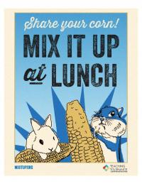 Mixitup poster share your corn