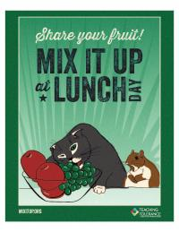 Mixitup poster share your fruit