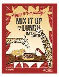 Mixitup poster now it's a party