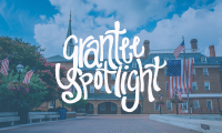"""Grantee Spotlight"" over image of Alexandria, Virginia"