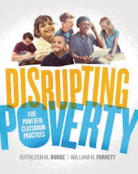 Disrupting Poverty book cover.