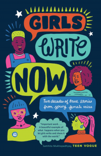 Girls Write Now book cover.