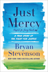 Just Mercy book cover.